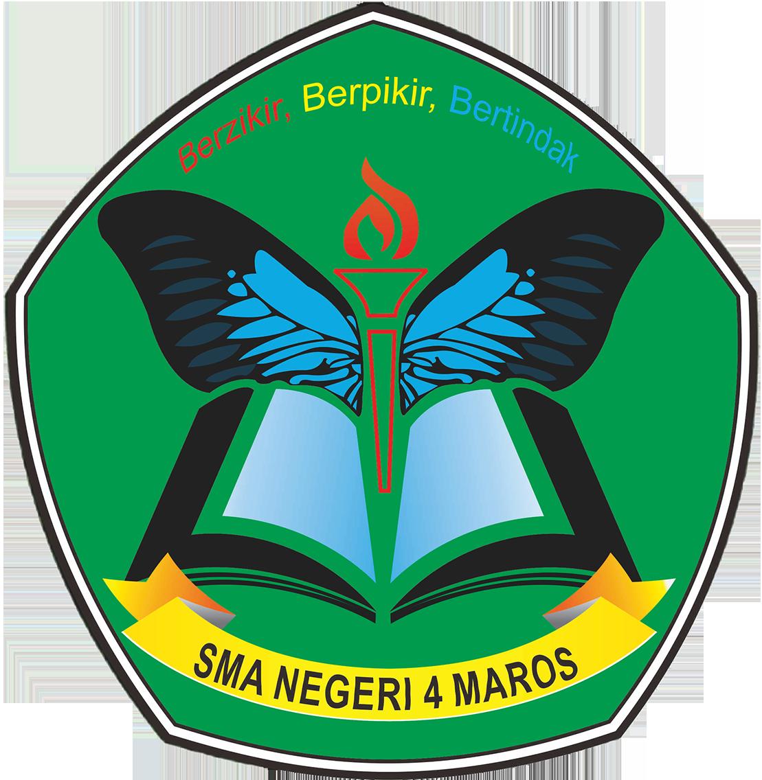 Logo Baru SMA Negeri 4 Maros